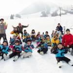 スキー教室 撮影