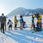 スキー教室 写真 長野